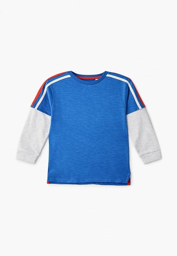 лонгслив outfit kids для мальчика, синий