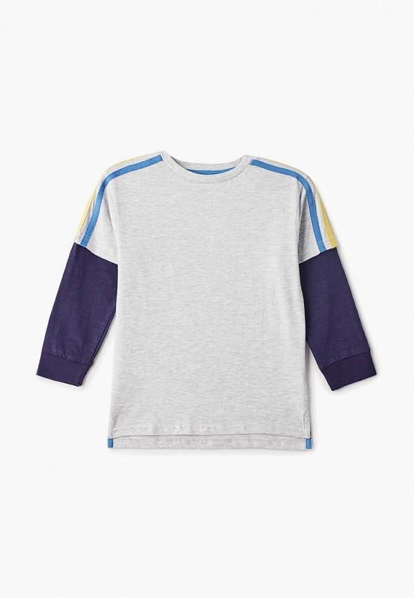 лонгслив outfit kids для мальчика, серый