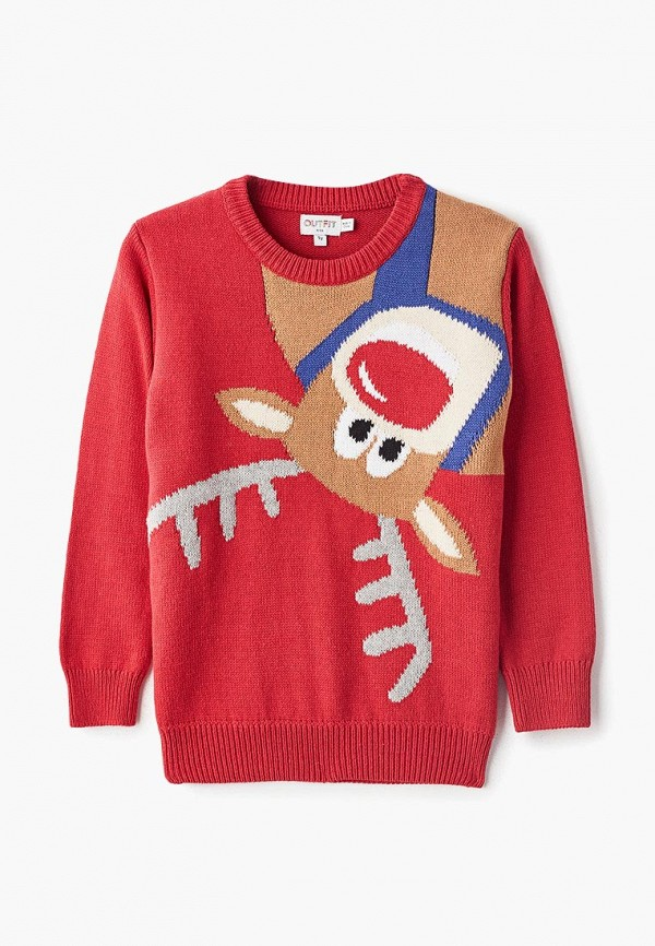 джемпер outfit kids для мальчика, красный