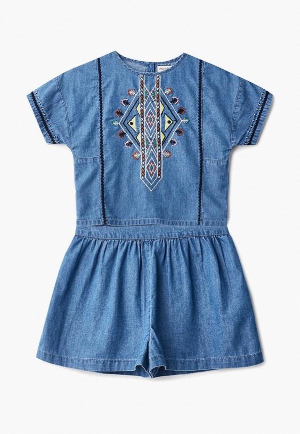 Фото - Костюм Outfit Kids синего цвета
