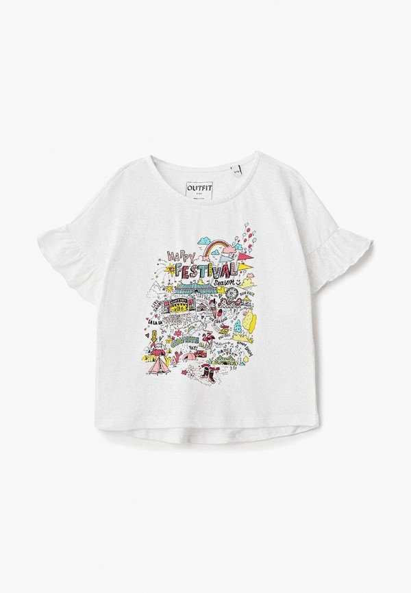 Футболка Outfit Kids Outfit Kids OU003EGCEOG1 newborn baby boy girl infant warm cotton outfit jumpsuit romper bodysuit clothes