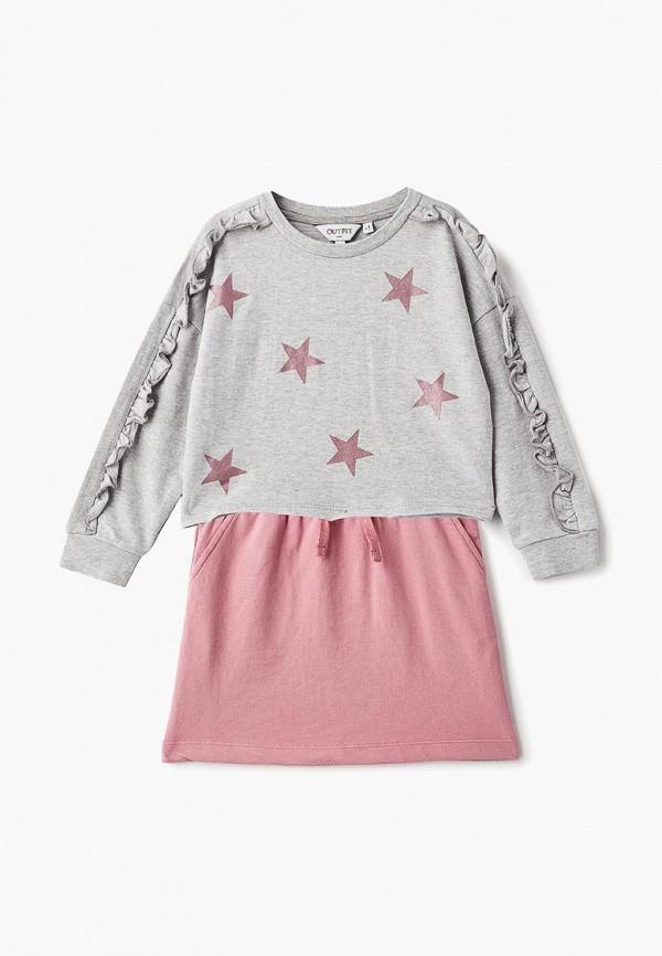 Комплект Outfit Kids Outfit Kids OU003EGCWBE4 newborn baby boy girl infant warm cotton outfit jumpsuit romper bodysuit clothes