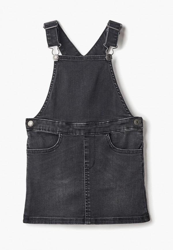 Фото - Платье или сарафан для девочки Outfit Kids серого цвета