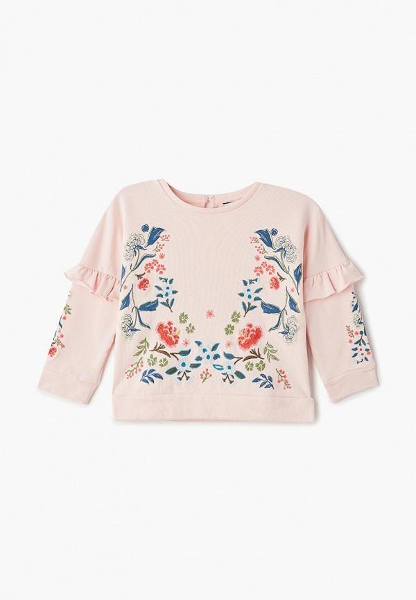 свитшот outfit kids для девочки, розовый