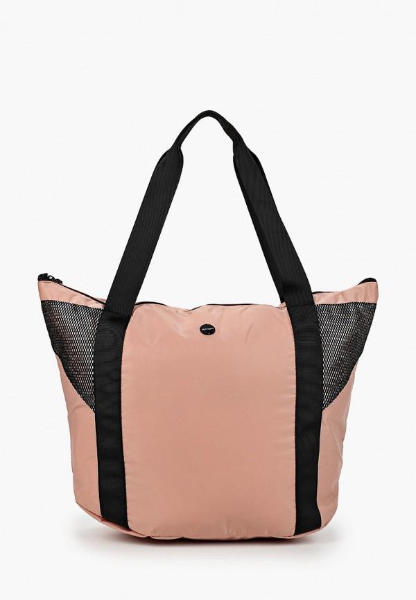 женская спортивные сумка outhorn, розовая