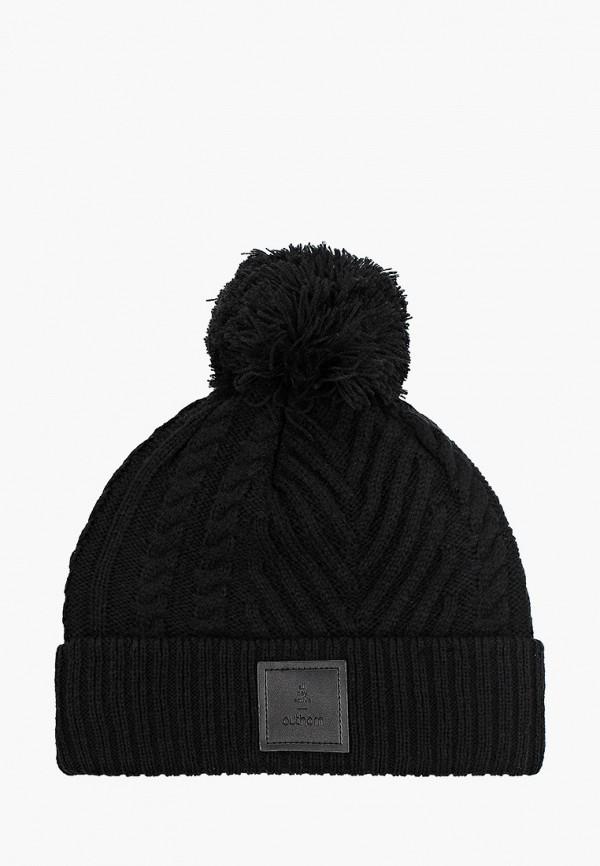 женская шапка outhorn, черная