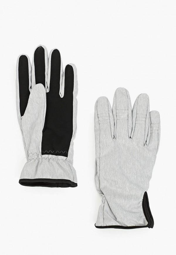 женские текстильные перчатки outhorn, серые