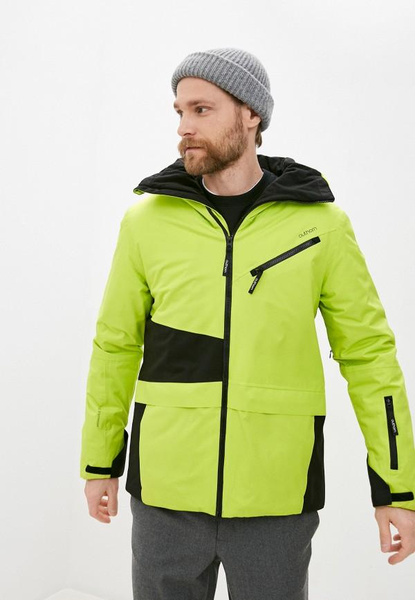 мужская куртка outhorn, зеленая