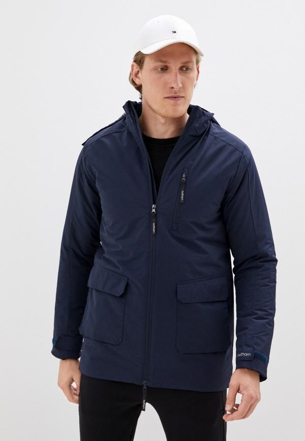 мужская куртка outhorn, синяя