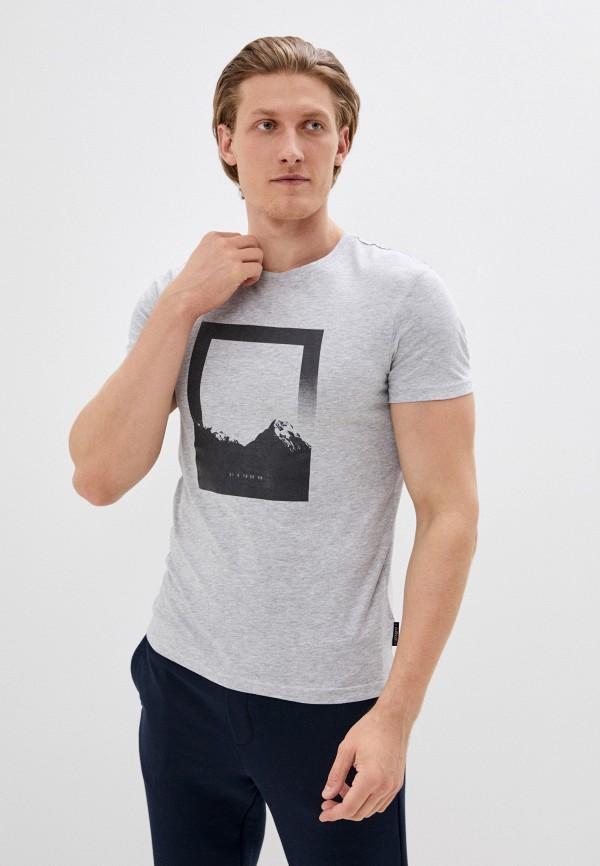 мужская спортивные футболка outhorn, серая