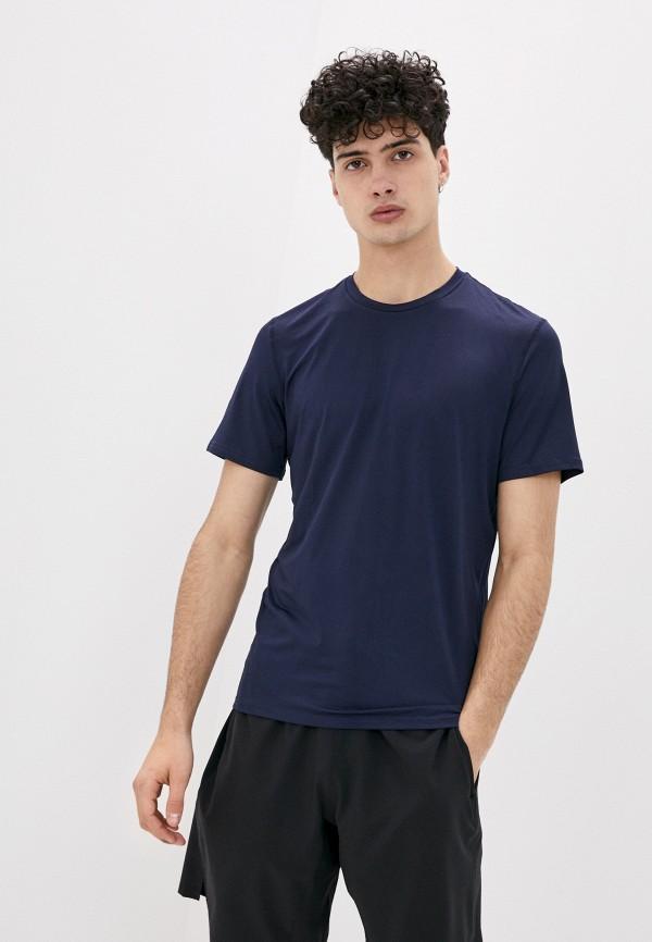 мужская спортивные футболка outhorn, синяя