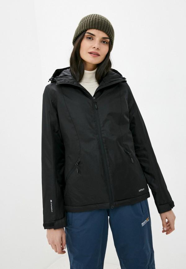 женская куртка outhorn, черная