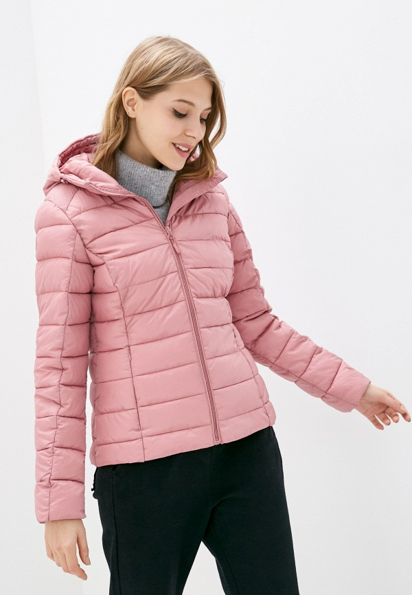 женская куртка outhorn, розовая