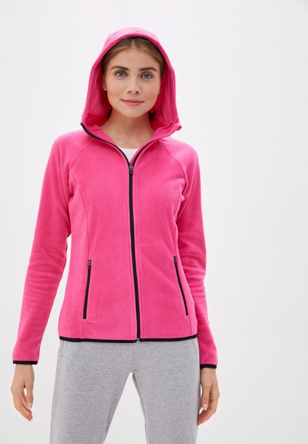 женская толстовка outhorn, розовая
