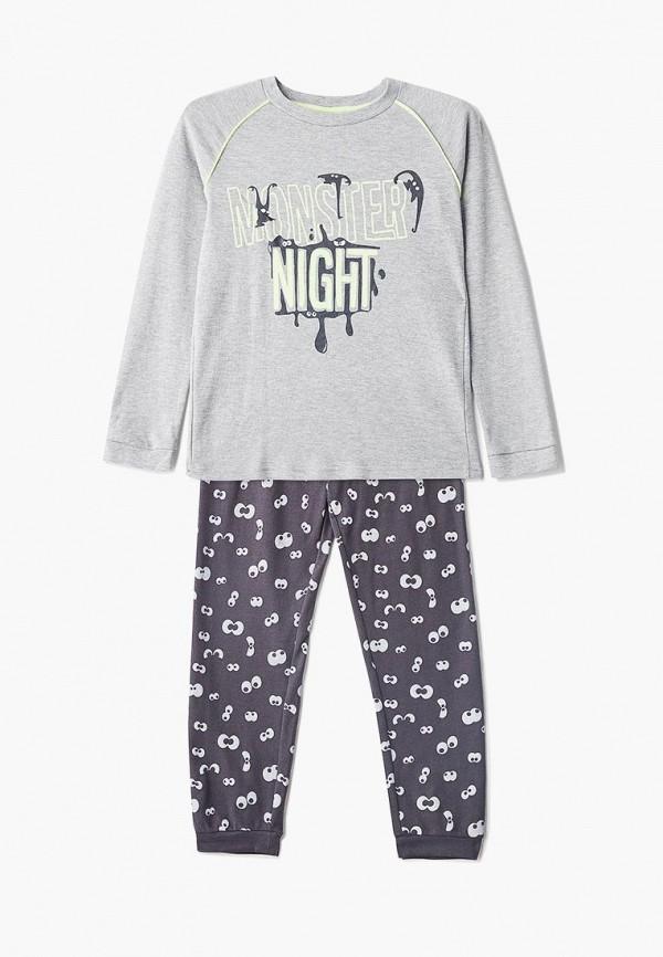 пижама ovs для мальчика, серая