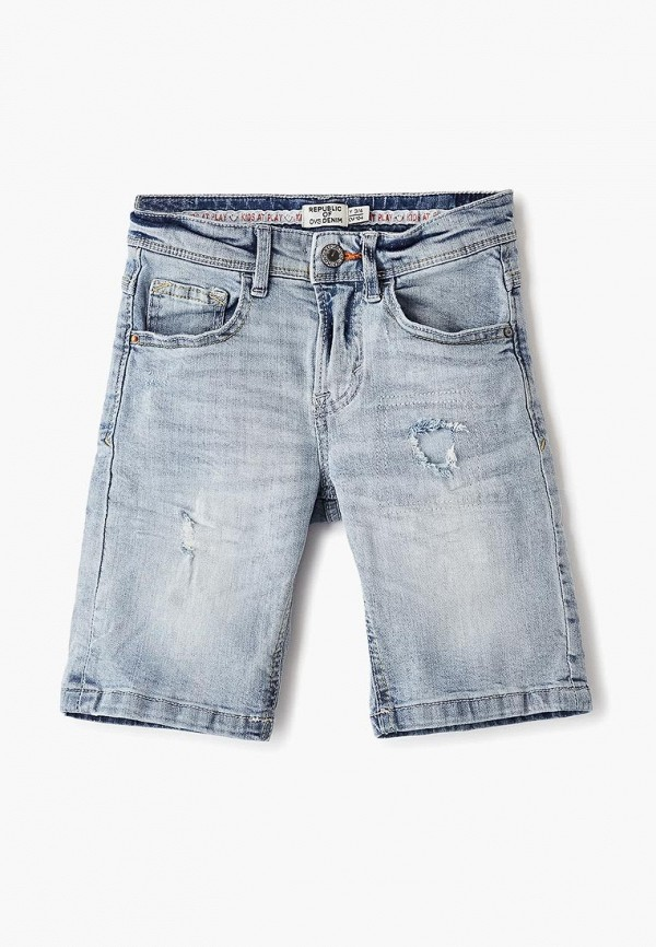 шорты ovs для мальчика, голубые