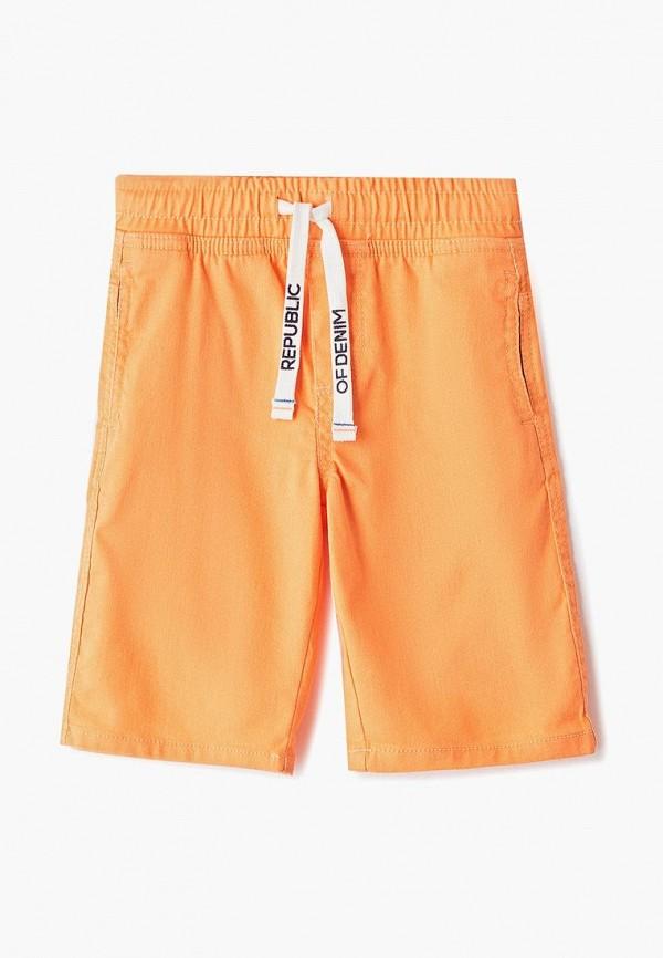шорты ovs для мальчика, оранжевые