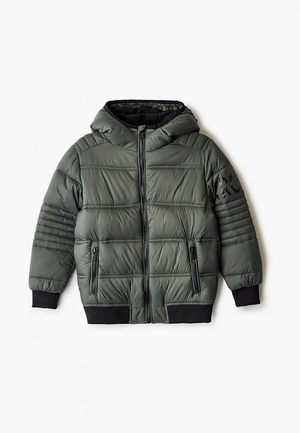 куртка ovs для мальчика, зеленая