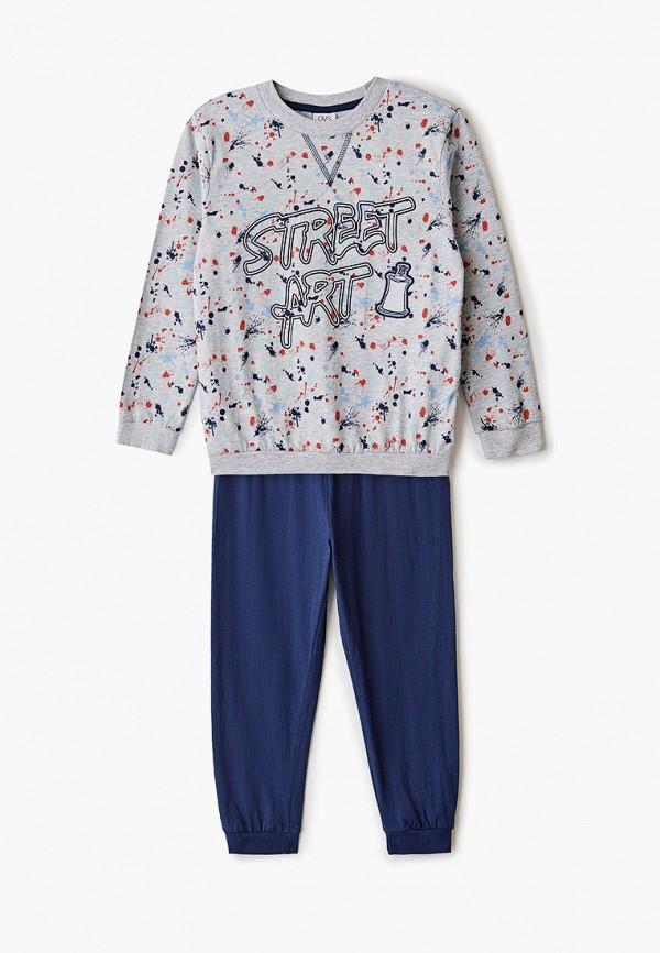 пижама ovs для мальчика, разноцветная