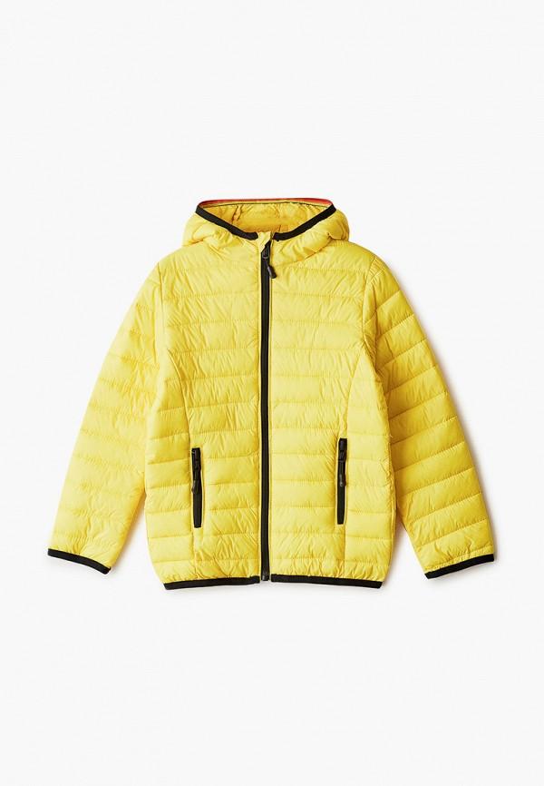 куртка ovs для мальчика, желтая