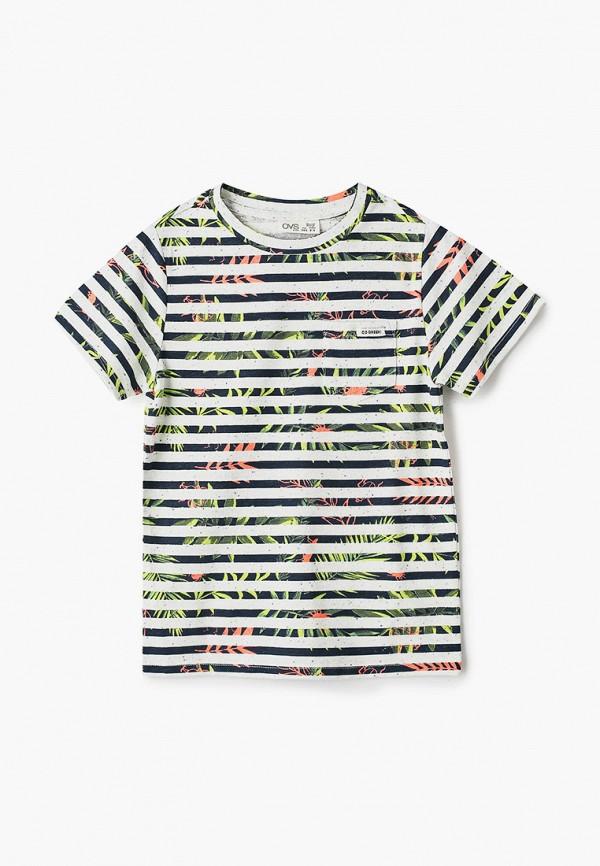 футболка с коротким рукавом ovs для мальчика, разноцветная