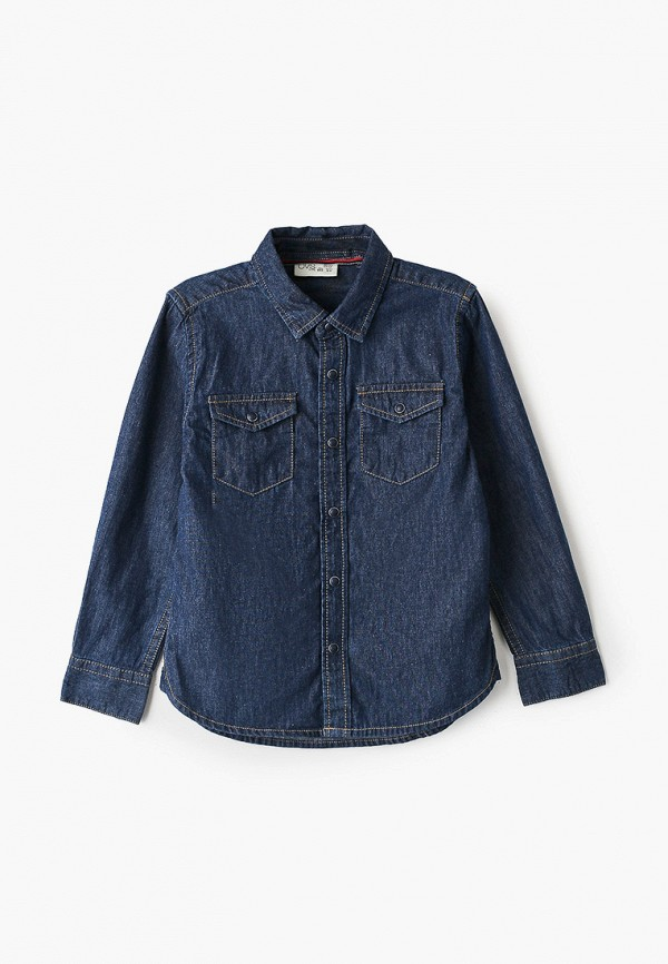 джинсовые рубашка ovs для мальчика, синяя