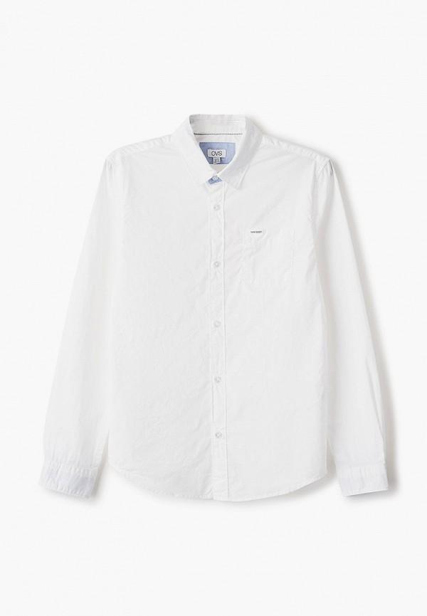 рубашка ovs для мальчика, белая