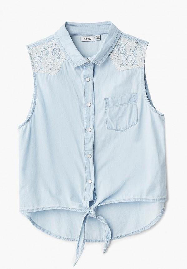 Купить Рубашка джинсовая OVS, OV001EGBBQC3, голубой, Весна-лето 2018