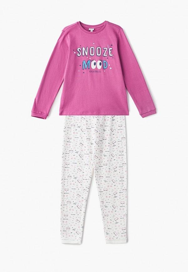 пижама ovs для девочки, разноцветная