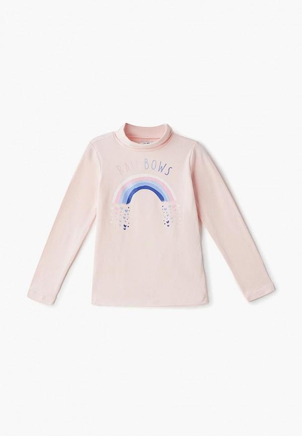 водолазка ovs для девочки, розовая