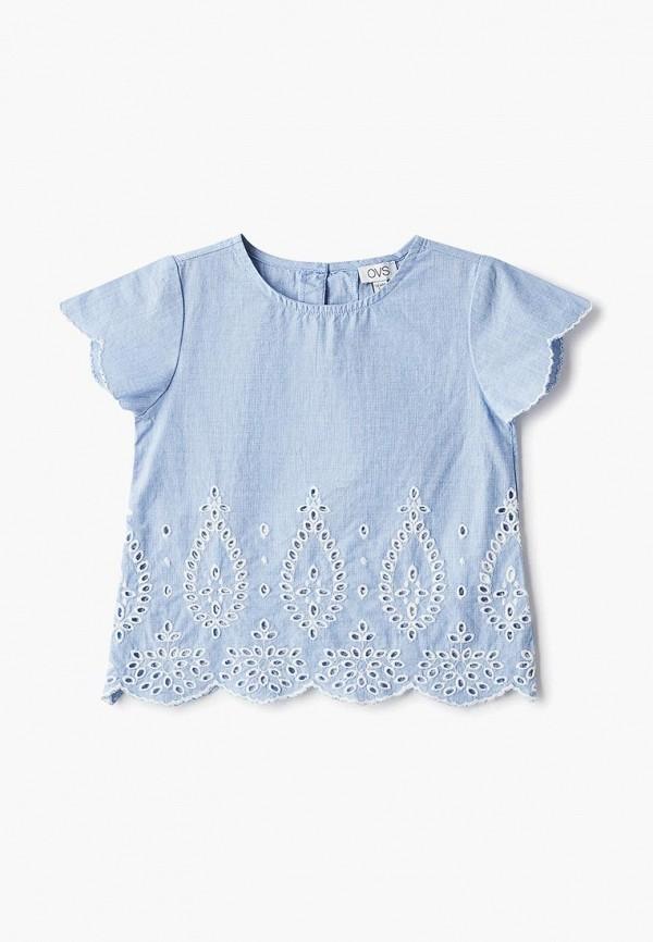 блузка ovs для девочки, голубая