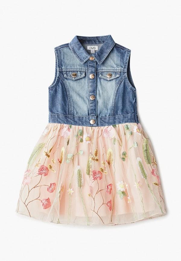 Платье OVS OVS OV001EGEIEW1 платье ovs ovs ov001ewayuk7