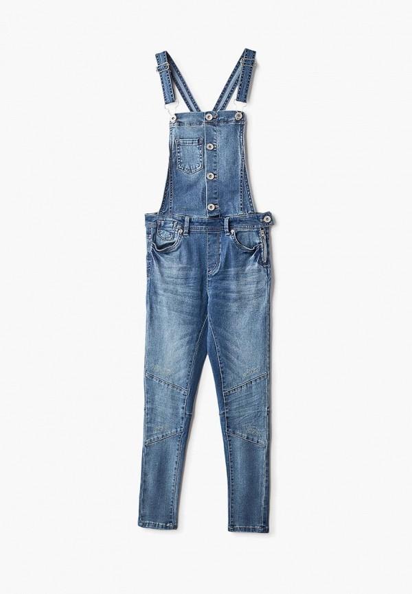 джинсовые комбинезон ovs для девочки, синий