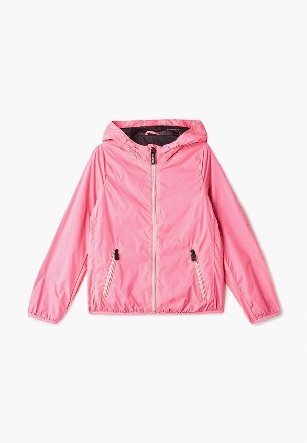 ветровка ovs для девочки, розовая
