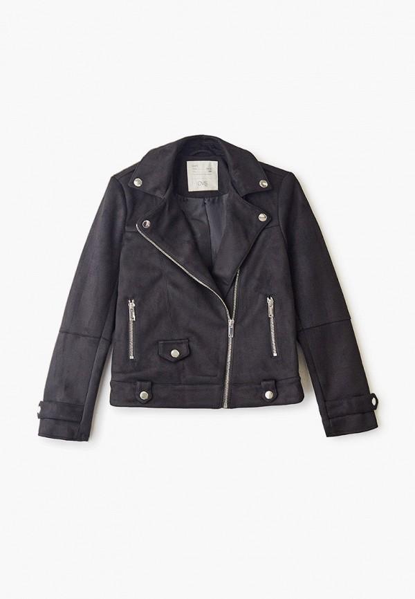 куртка ovs для девочки, черная