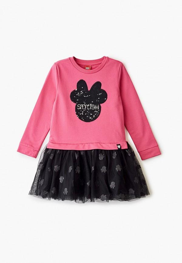 повседневные платье ovs для девочки, розовое