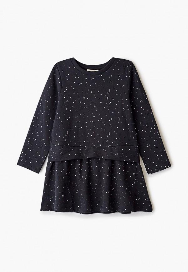 повседневные платье ovs для девочки, черное