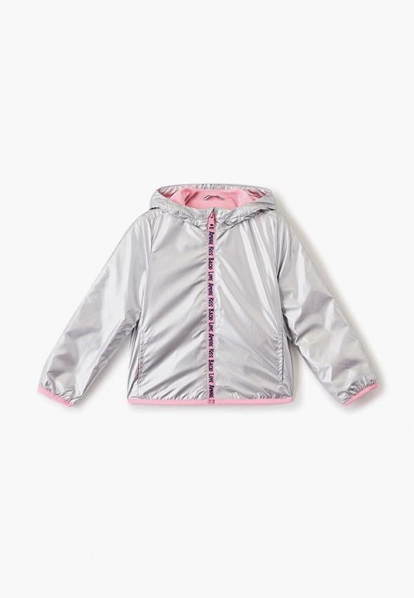куртка ovs для девочки, серебряная