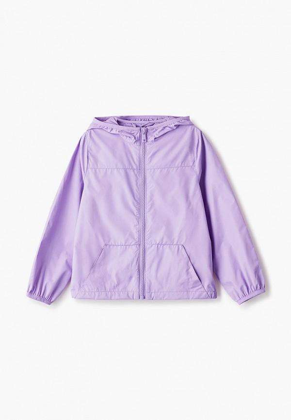 ветровка ovs для девочки, фиолетовая