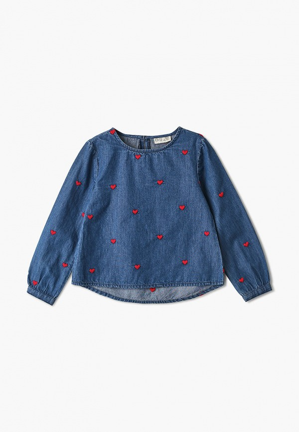 блузка ovs для девочки, синяя
