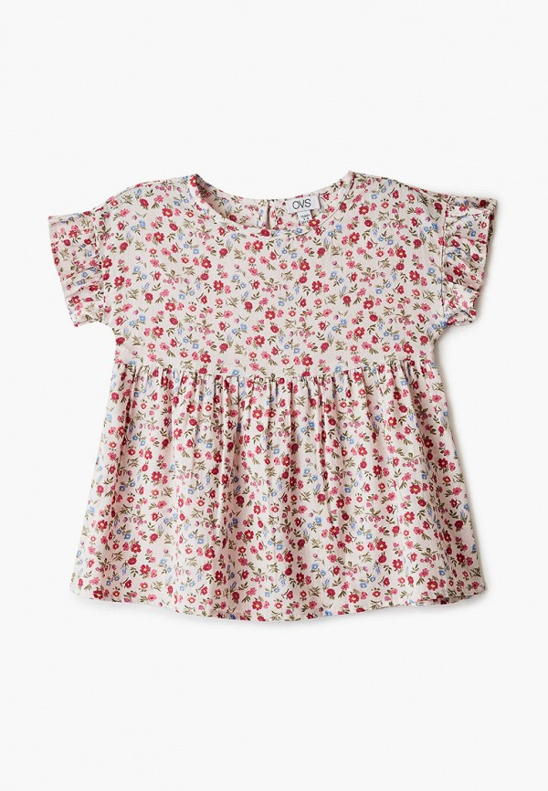 блузка ovs для девочки, розовая
