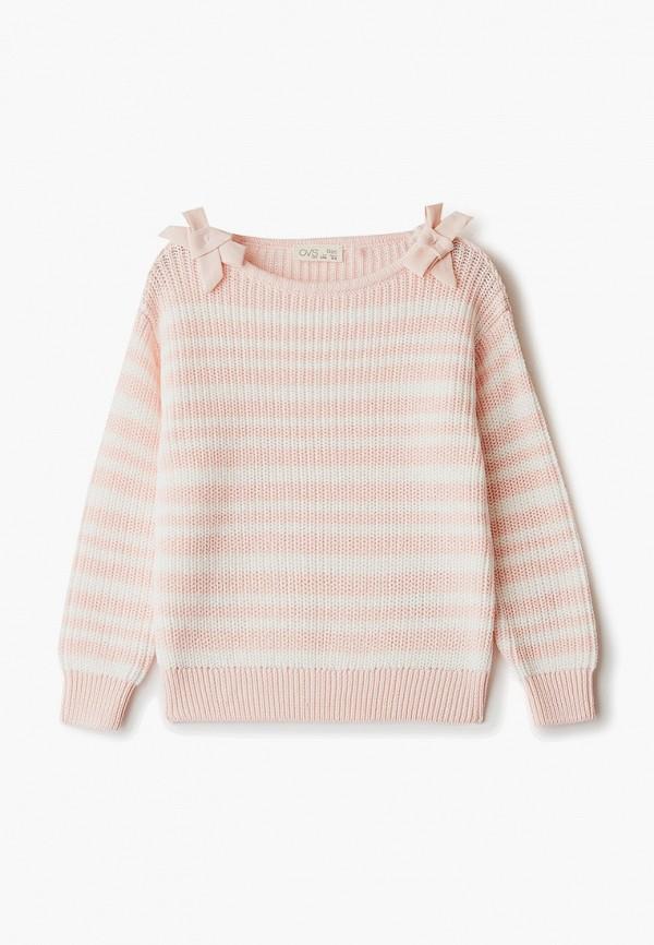 джемпер ovs для девочки, розовый