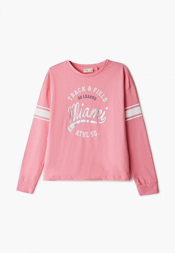 свитшот ovs для девочки, розовый