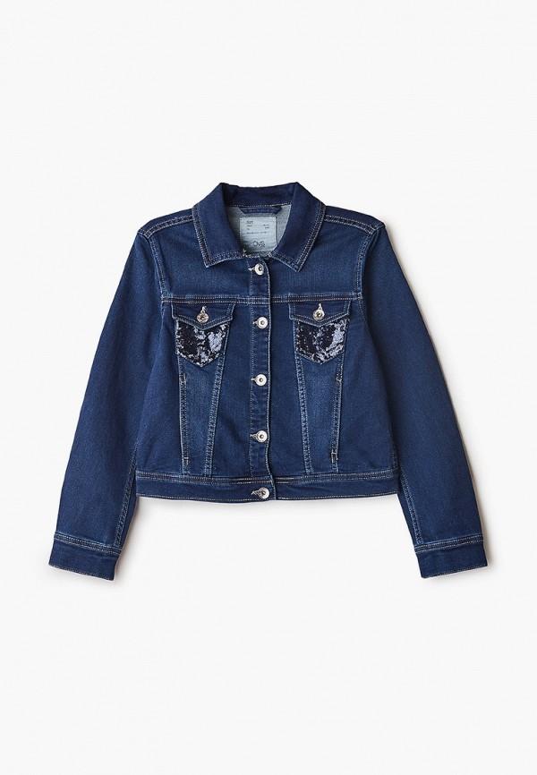 джинсовые куртка ovs для девочки, синяя