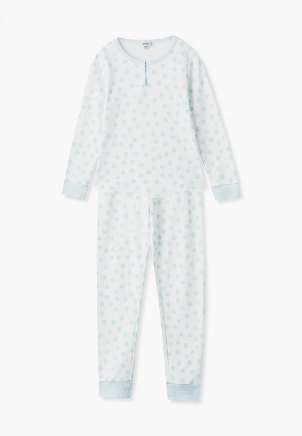 пижама ovs для девочки, белая