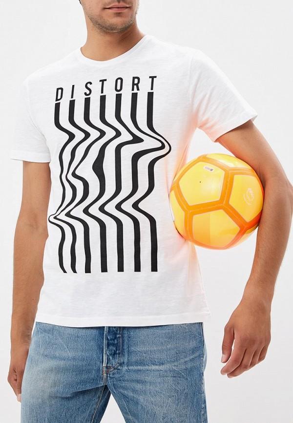 Фото - мужскую футболку OVS белого цвета