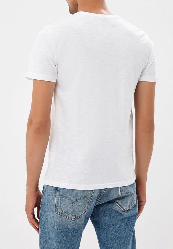 Фото 7 - мужскую футболку OVS белого цвета