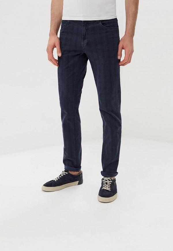 Фото 2 - мужские брюки OVS синего цвета