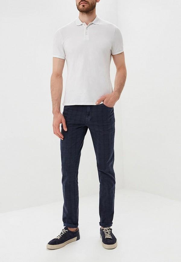 Фото 6 - мужские брюки OVS синего цвета