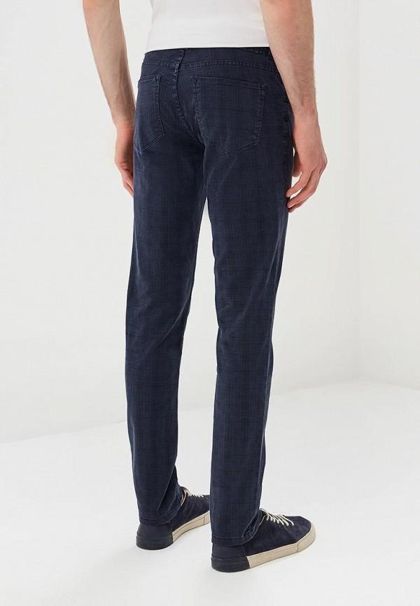 Фото 4 - мужские брюки OVS синего цвета